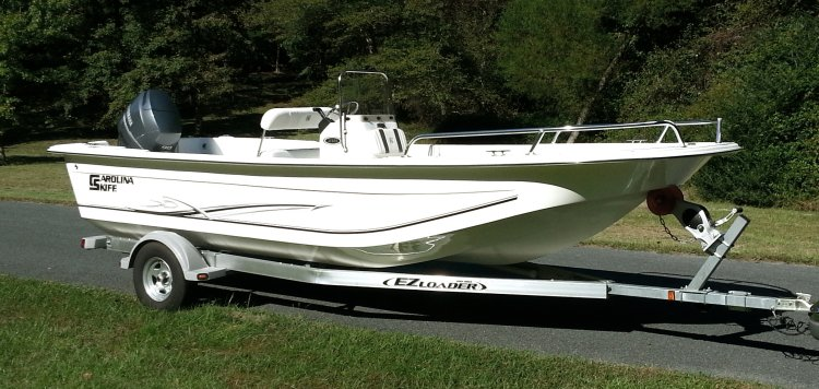 Carolina Skiff Products Bow Rails; Blue Water Marine Products in Monroe, NC