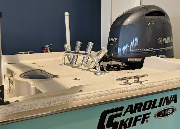 Carolina Skiff Products DLV Rod Rack; Blue Water Marine Products in Moonroe, NC